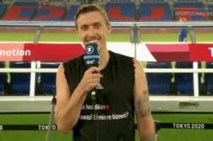 Olympia 2021: Nach Heiratsantrag: Kruse musste 20 bis 25 Minuten warten