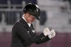Olympia-Newsblog: Olympia live: Dressur-Team holt zweite deutsche Goldmedaille