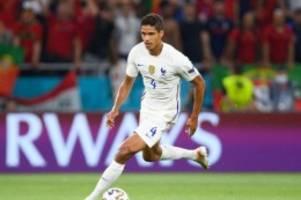 transfers: varane wechselt von real madrid zu manchester united