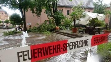 Hochwasser: Neue Unwetter in vielen Teilen Deutschlands sorgen für Chaos