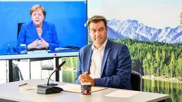 mpk: termin für nächste ministerpräsidentenrunde mit merkel steht