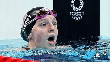 Olympia - Verrückt: 17-Jährige aus Alaska feiert Schwimm-Gold