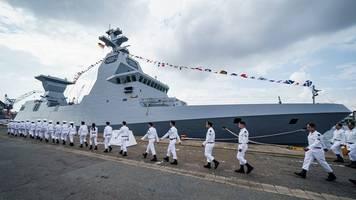 zwei weitere korvetten an israel übergeben