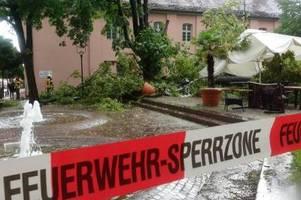 erneute unwetter sorgen in teilen deutschlands für chaos