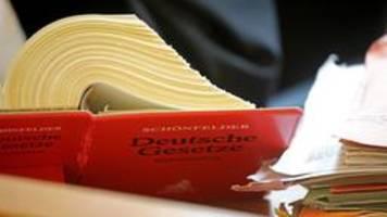 juristische standardwerke: ns-juristen nicht länger namensgeber