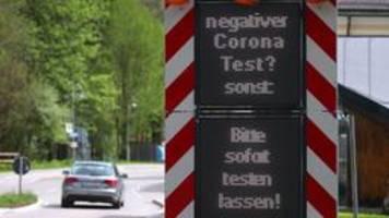 Testpflicht für alle Rückkehrer rückt näher