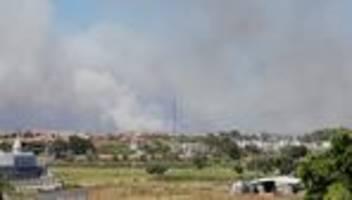 Türkei: Waldbrände bei Antalya nach wie vor nicht unter Kontrolle