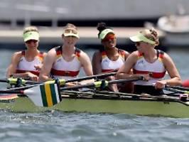 Einbruch auf den letzten Metern: Frauen-Doppelvierer nur Fünfter