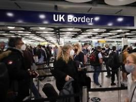 keine quarantäne mehr nötig: briten erleichtern einreise für geimpfte