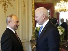 kreml widerspricht deutlich: biden: russland hat nur atomwaffen