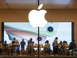 iPhone wichtigste Stütze: Apple: Umsatz wie im Weihnachtsgeschäft