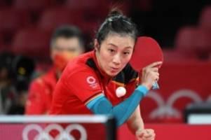 Sommerspiele in Tokio: Tischtennisspielerin Han Ying raus im Olympia-Viertelfinale