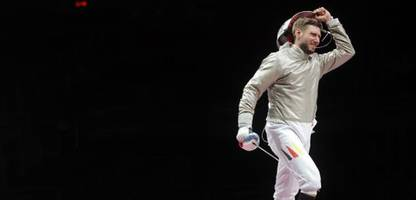 olympia 2021: karriereende von säbelfechter max hartung