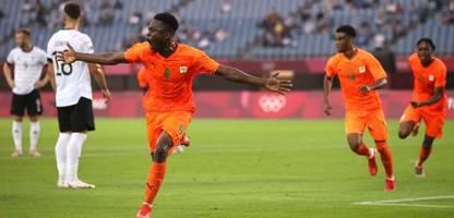 olympia 2021: deutschland im fußball nach remis gegen elfenbeinküste raus