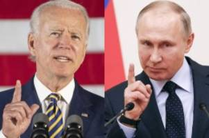 russland: hackerangriffe: us-präsident biden rechnet mit cyber-krieg