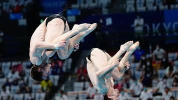Olympia: Hausding und Rüdiger springen nervenstark zu Bronze