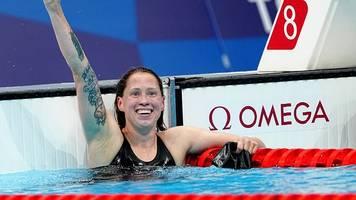 Sommerspiele in Tokio: Sarah Köhler erlöst Schwimmer mit Olympia-Bronze