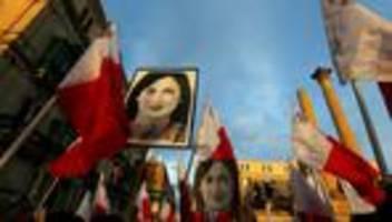 malta: untersuchung gibt regierung mitschuld an mord an caruana galizia