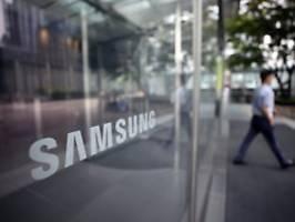 Apple-Rivale mit Gewinnsprung: Samsung steckt voller Optimismus