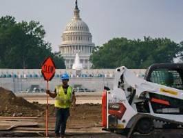 Trump: Schrecklicher Deal: US-Senat schiebt Infrastrukturpaket an