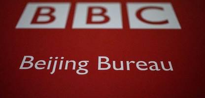 china rechtfertigt anfeindungen gegen bbc-reporter