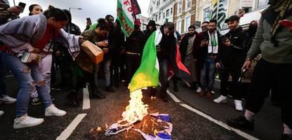 London: Mehr antisemitische Angriffe nach jüngster Nahost-Eskalation