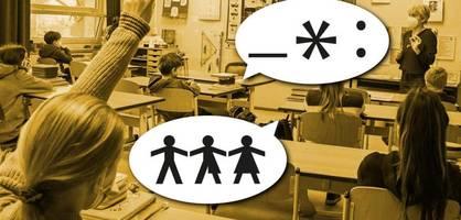 Wenn Lehrer und Schüler sich gemeinsam auf Gendersprache einigen sollen