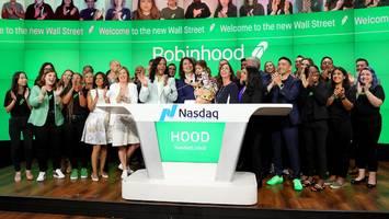 Ungewöhnliche Ausgabe scheitert - Börsengang von Robinhood gerät zum Flop – Aktie fällt bei Premiere deutlich
