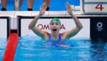 olympische spiele: brustschwimmerin tatjana schoenmaker stellt neuen weltrekord auf