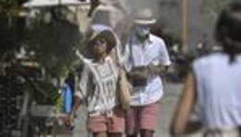 Südosteuropa: Hitzewelle in Griechenland