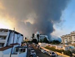 hitzewelle in griechenland: meiste waldbrände in türkei unter kontrolle