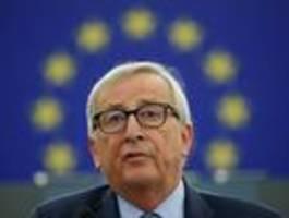 Juncker: Merkel zögerte manchmal, bevor sie die europäische Karte spielte
