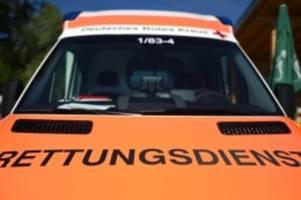 Notfälle: Neun Schwerverletzte bei Busunglück auf A13