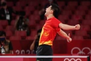 Sommerspiele in Tokio: Ovtcharov-Bezwinger Ma Long erneut Tischtennis-Olympiasieger