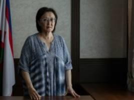 Russland: Die Frau, die Nein zu Putin sagte