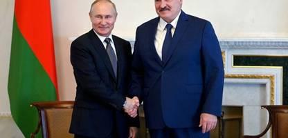 belarus: alexander lukaschenko würde auch russische truppen ins land lassen