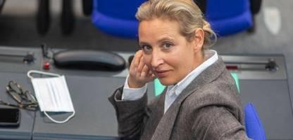 Coronavirus: AfD-Spitzenkandidatin Weidel will sich vorerst nicht impfen lassen