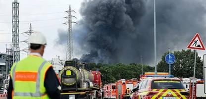 Explosion in Chempark Leverkusen: Zweifel an den Kontrollen der Behörden wachsen