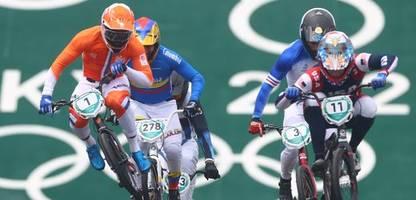 Olympia 2021 - BMX-Rennen: Schwere Stürze überschatten BMX-Rennen