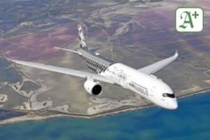Luftfahrt: Airbus will eine Frachterversion des A350 bauen
