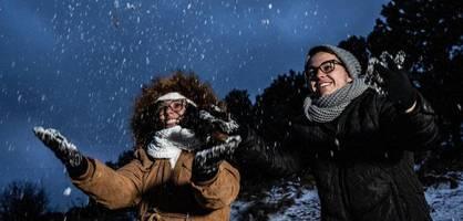 """""""Schönes Geschenk des Himmels"""" – Kältewelle bringt Schnee in Brasilien"""