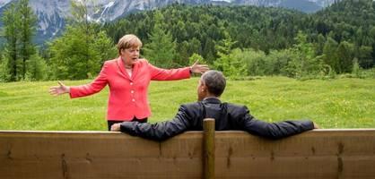 Das Merkel-Obama-Rätsel