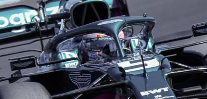 Vettel geht in Ungarn mit Regenbogen-Helm auf die Strecke