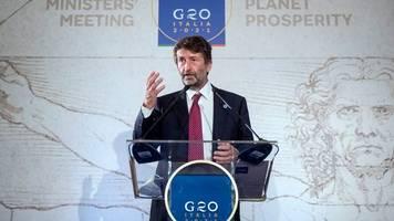 Kulturpolitik: G20-Kulturminister einigen sich auf detaillierte Erklärung