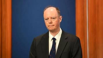 Britischen Corona-Experten Chris Witty belästigt: Acht Wochen Haft auf Bewährung