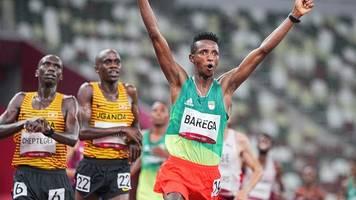 Olympia: Äthiopier Barega gewinnt 10.000 Meter