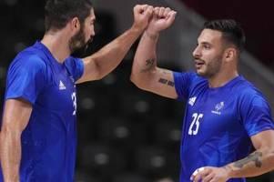 frankreichs handballer in tokio weiter unbesiegt
