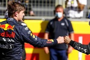 Zweikampf zwischen Formel-1-Piloten Hamilton und Verstappen immer giftiger