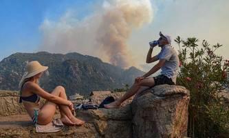extreme hitze und viele waldbrände in europa