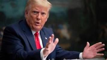 US-Justizministerium: Trumps Steuerunterlagen müssen an den Kongress